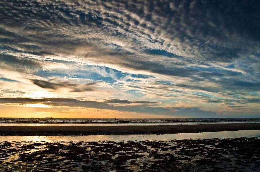 Zonsondergang | Wassenaar van Ricardo Bouman | Fotografie