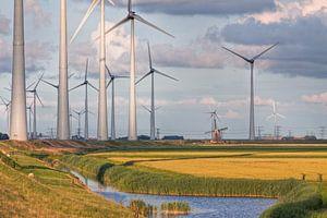 Poldermolen Goliath vs. Windturbines