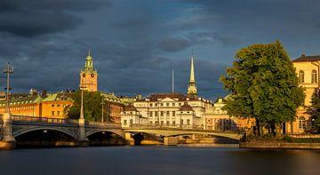 Zomeravond in Stockholm van Adelheid Smitt