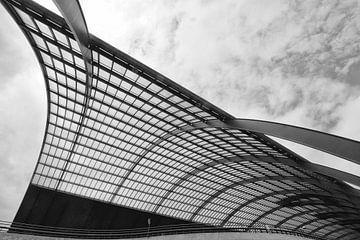 Passengerterminal  Amsterdam van Bob Bleeker