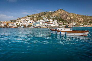 Hafen von Sant Angelo auf Ischia, Italien von Christian Müringer