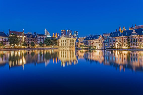 Mauritshuis en Skyline Den Haag