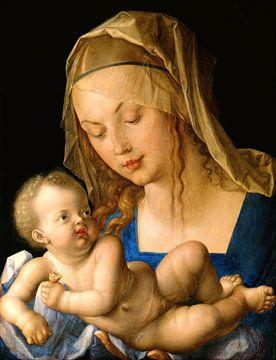 Albrecht Dürer.Jungfrau und Kind