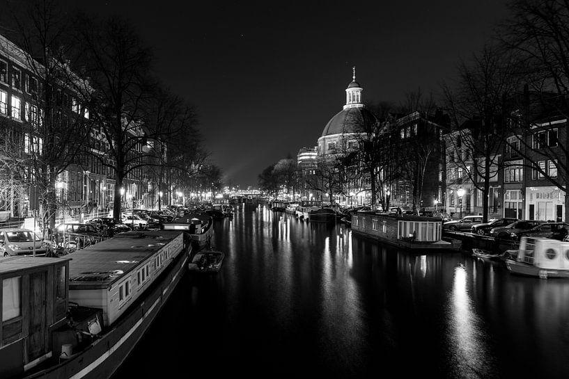 Nachtelijk Amsterdam - 4 van Damien Franscoise