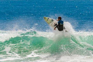 Surfer in Malibu van Easycopters