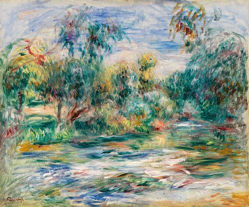 landschap, Renoir 1917