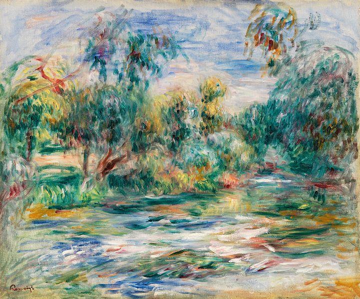 landschap, Renoir 1917 van Atelier Liesjes