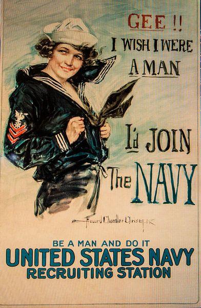 United States Navy poster van Brian Morgan