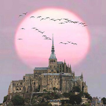 Bon soir, Mont Saint-Michel von Dirk H. Wendt