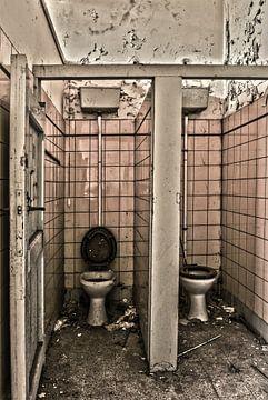 Toilette nicht in Gebrauch von Ans Bastiaanssen