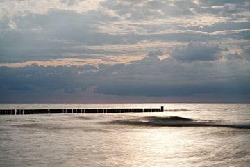 Avond aan de kust