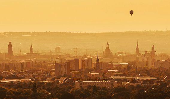 Dresden zonsondergang