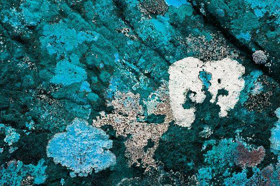 Gekleurde rotsen 2 van Greetje van Son