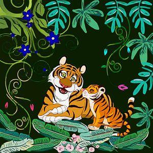 Happy Tigers von Gabriella David