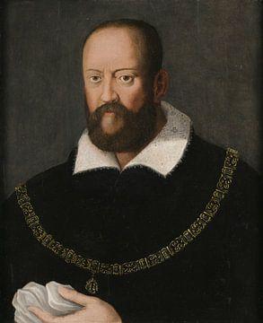 Porträt von Cosimo I Medici, Bronzino