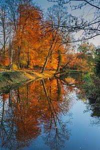 Herfst in Randenbroekerpark Amersfoort.