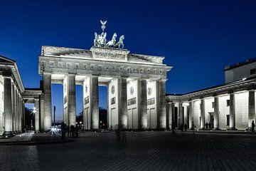 Brandenburger Tor zu blauen Stunde