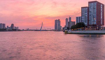 Zonsopkomst Rotterdam van AdV Photography
