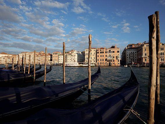 Gondola's at Punta Dogana