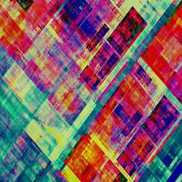 Composition abstraite 475 van Angel Estevez