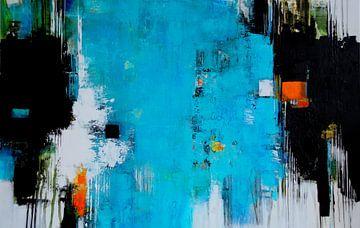 Helder blauw van Claudia Neubauer