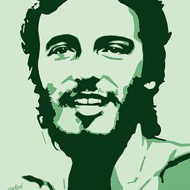 Bruce Springsteen - Born To Run sur Jarod Art