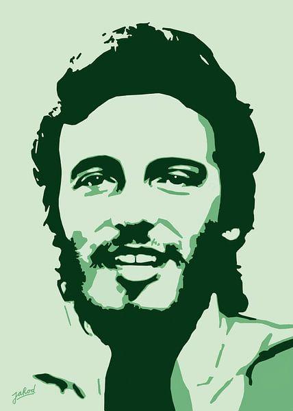 Bruce Springsteen - Born To Run van Jarod Art
