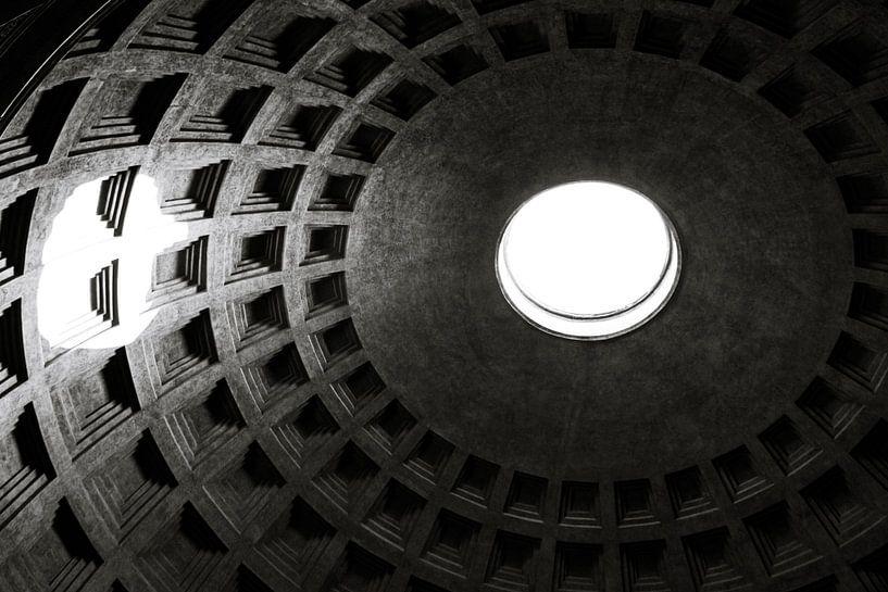 Koepel van het Pantheon van Tess Groote