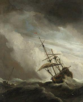 Der Windstoß – Willem van de Velde