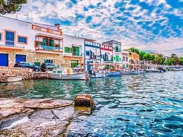 Portocolom Mallorca-poort van Mustafa Kurnaz