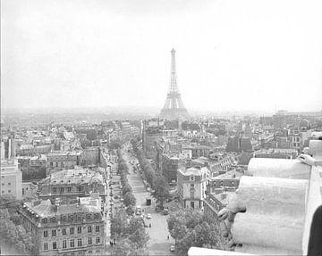 Vintage Foto Eiffelturm von Jaap Ros