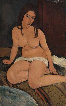 sitzender Akt, Amedeo Modigliani