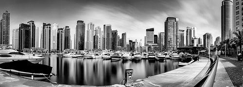 Dubai Marina Yacht club van Martijn Kort
