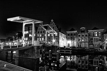 Haarlem am Abend von Apple Brenner