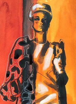 Sechziger Jahre Glamour von Helia Tayebi Art