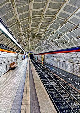 U-Bahnstation Gänsemarkt #2 von Leopold Brix