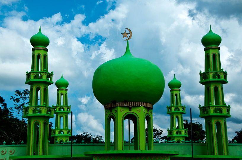 Groene moskee van Ton de Koning