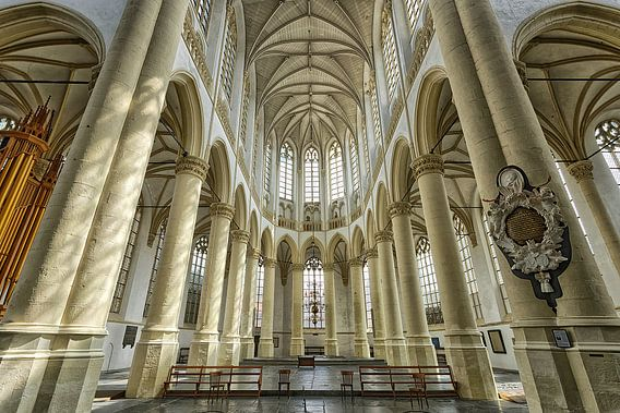 Hooglandse kerk in Leiden.