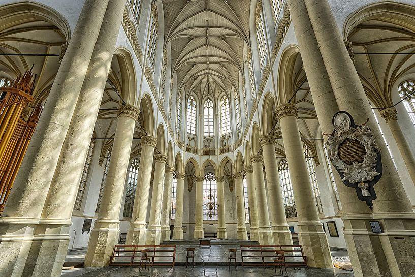 Hooglandse kerk in Leiden. van Tilly Meijer