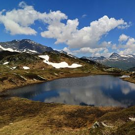 Bernardinopas 2 - Graubünden - Zwitserland van Felina Photography