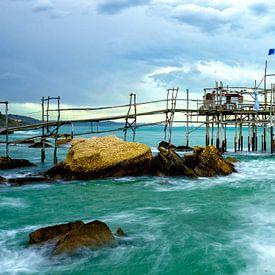 Trabocco Punta Tufano - Abruzzo  van Teun Ruijters