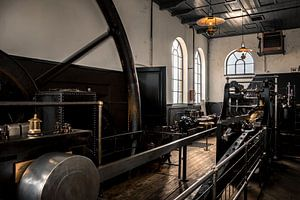 Industrieel oud gemaal van