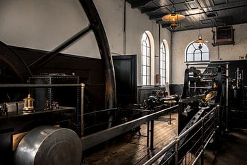 Industrieel oud gemaal von Jos Reimering