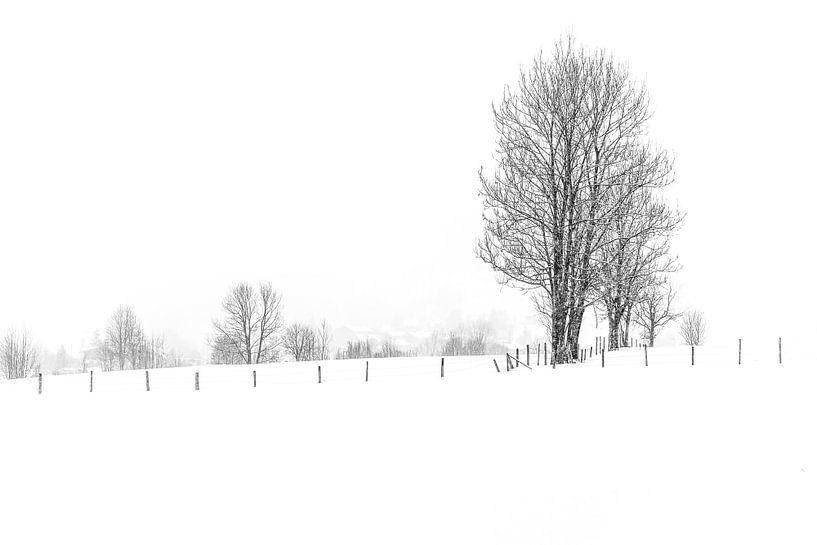 Winter in Dorfgastein van Ratna Bosch
