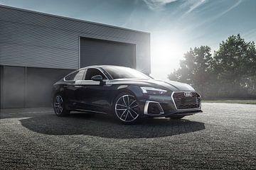 Grijze Audi A5 van Maikel van Willegen Photography