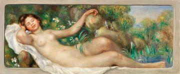 Liegender Akt (der Brunnen), Renoir (1895)