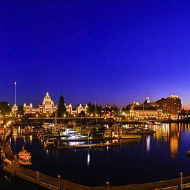 Haven van Victoria, BC Canada panorama van Joris Louwes