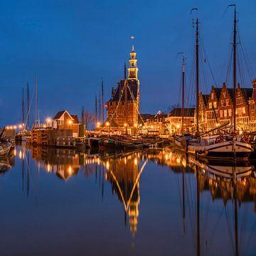 Soirée à Hoorn, Hollande du Nord sur Adelheid Smitt