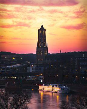 De Eusebiuskerk in Arnhem van Nick van der Blom