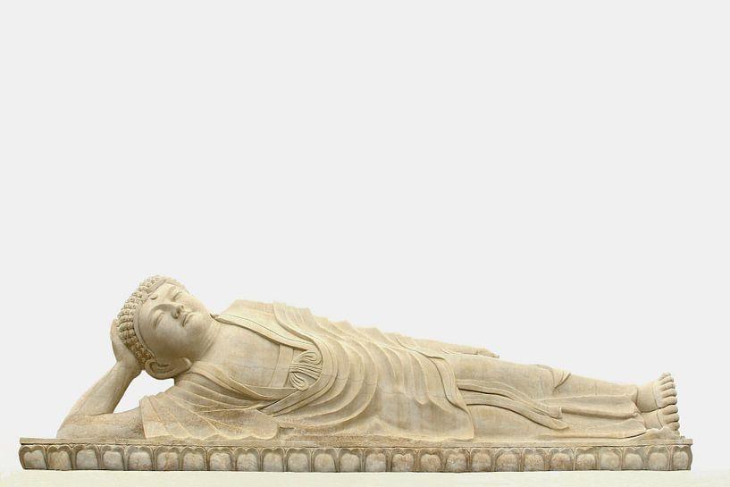 Liggende Boeddha van Inge Hogenbijl